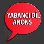 Yabancı Dil Mağaza Anons
